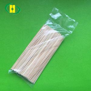 Eco-Friendly BBQ Bamboo Skewer 2.5mmx15cm